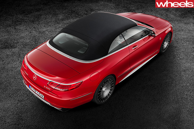 Mercedes -Maybach -convertible -rear -top