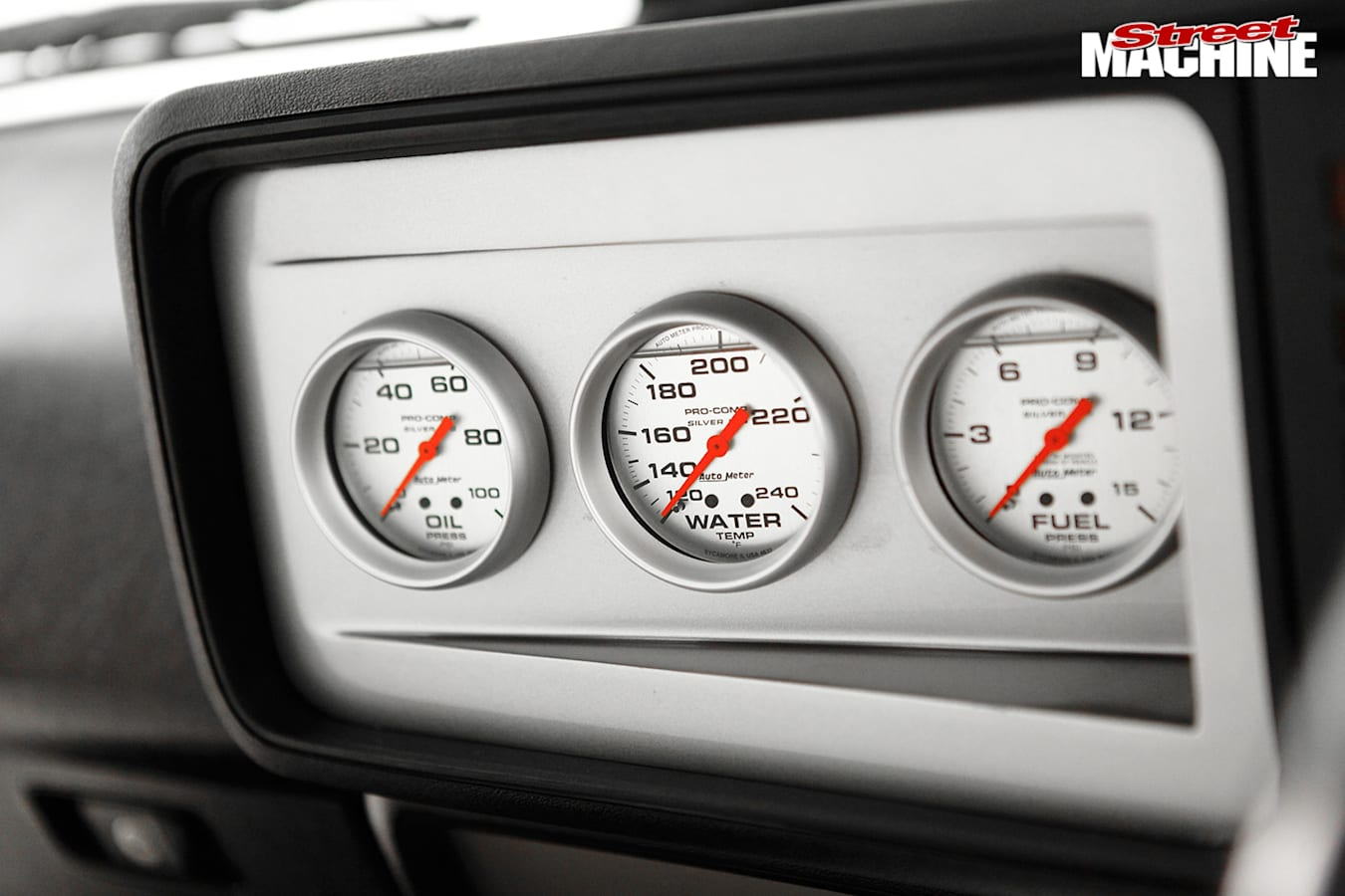 Ford XD Falcon gauges