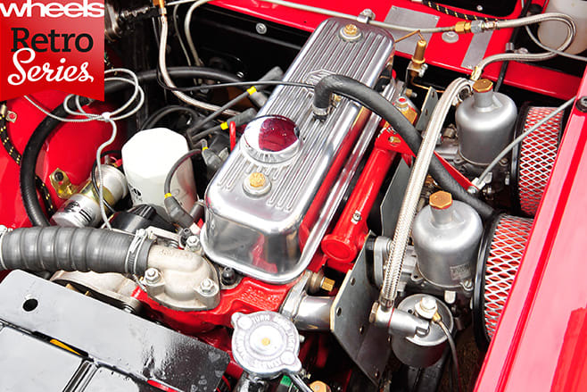 MG-A-Roadster -engine