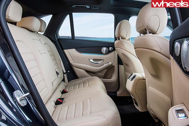 Mercedes -Benz -GLC-rear -seats