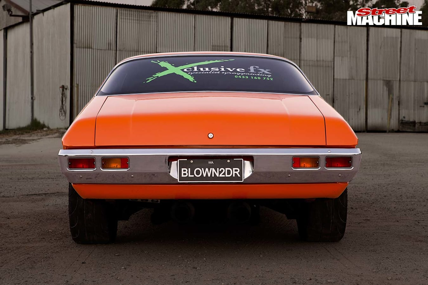 Holden HQ GTS Monaro rear