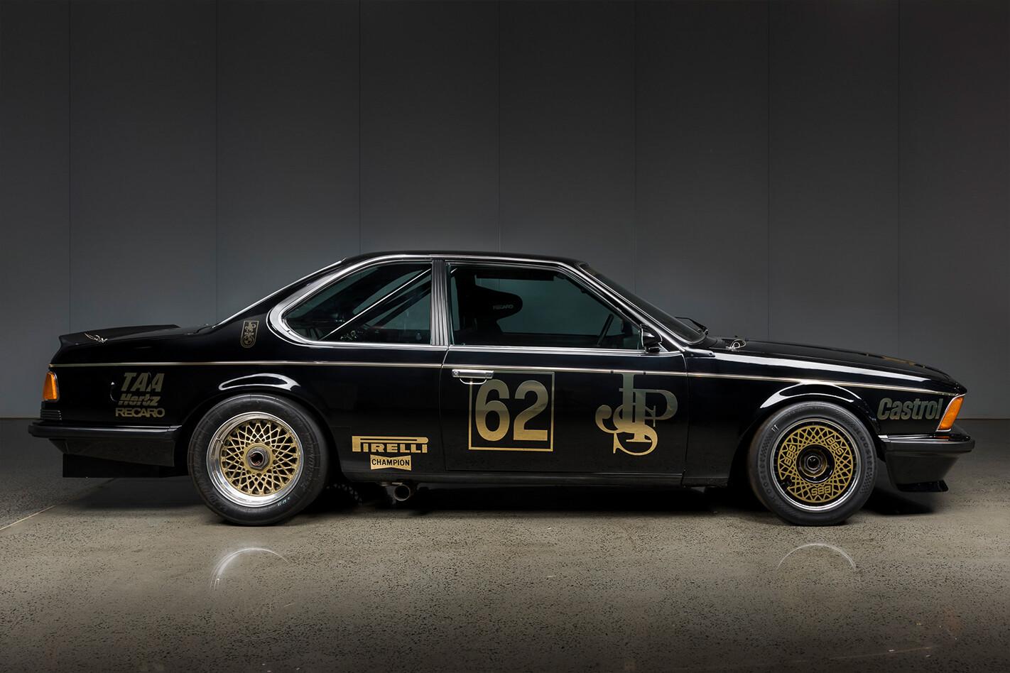 Jim Richards BMW 635 Group A Side Jpg