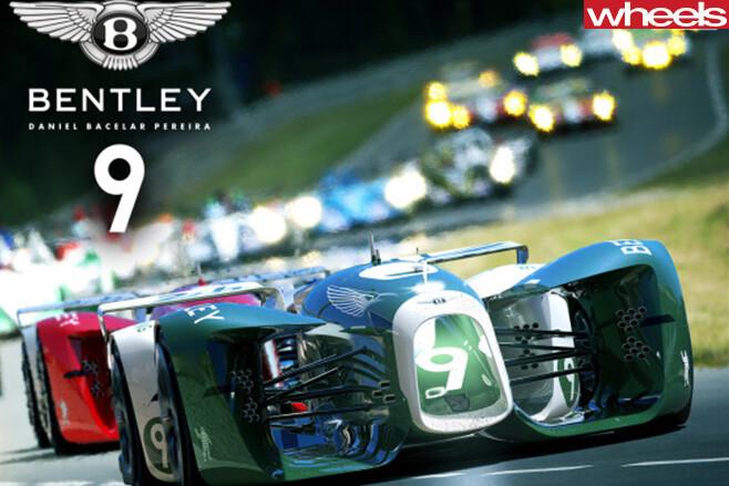Bentley -9-autonomous -Le -mans -racing -cars