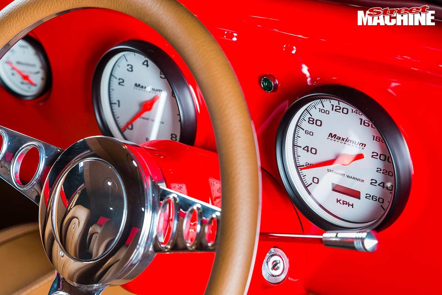 Ford Cortina dash