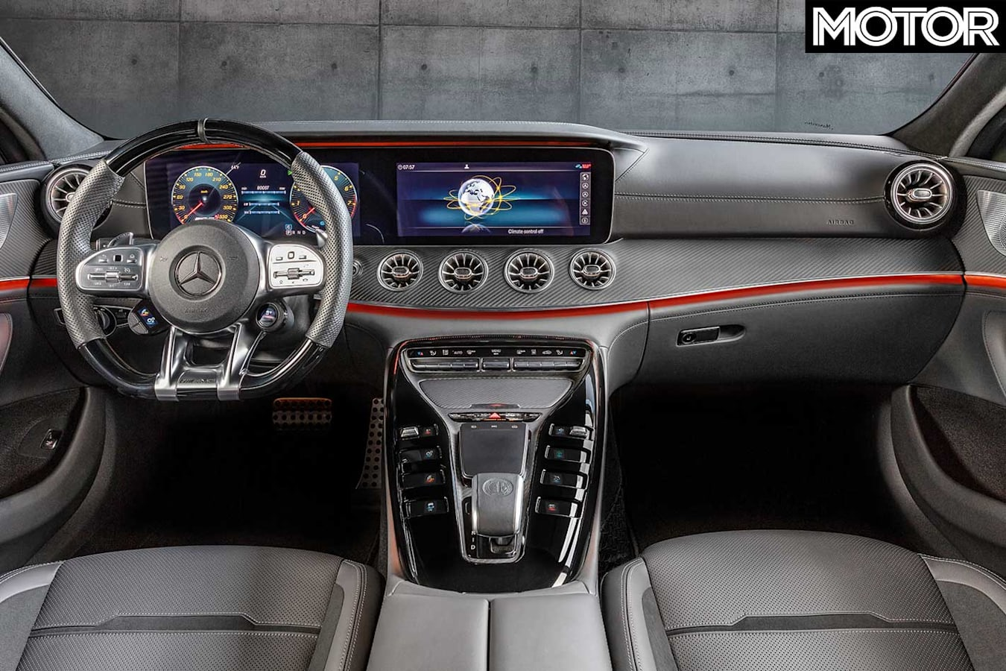 Mercedes AMG GT 43 Interior Jpg