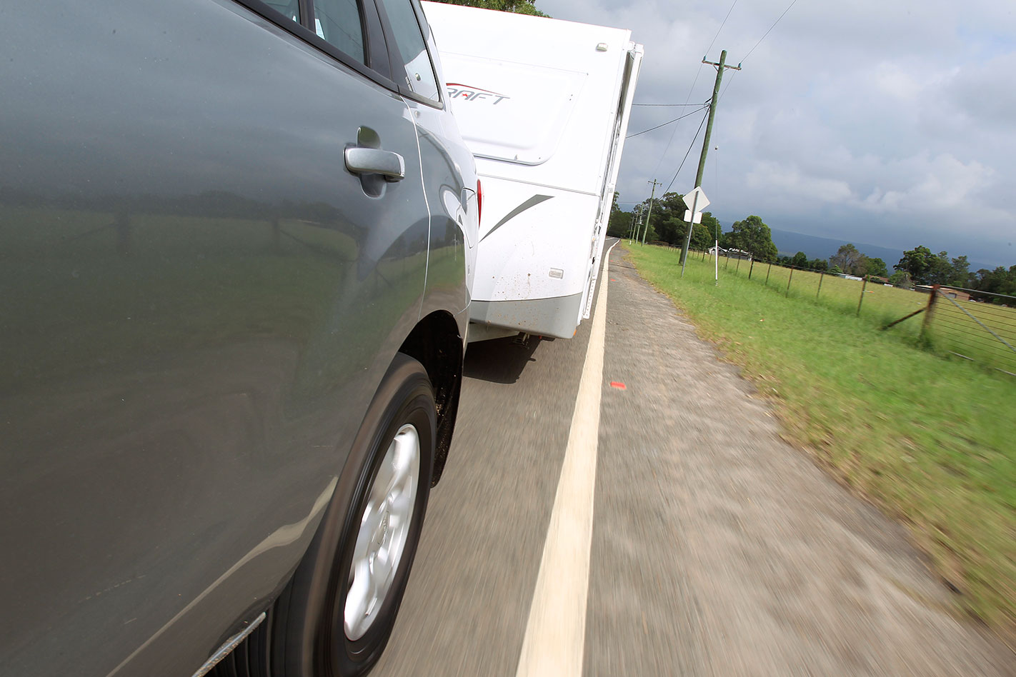 Tow Test Wagon