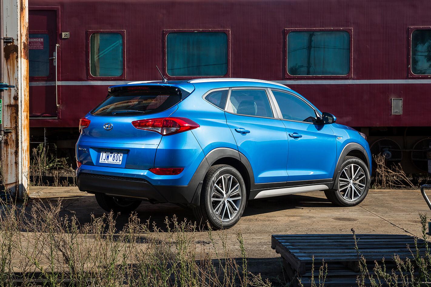 2018 Hyundai Tucson Active X Rear Jpg
