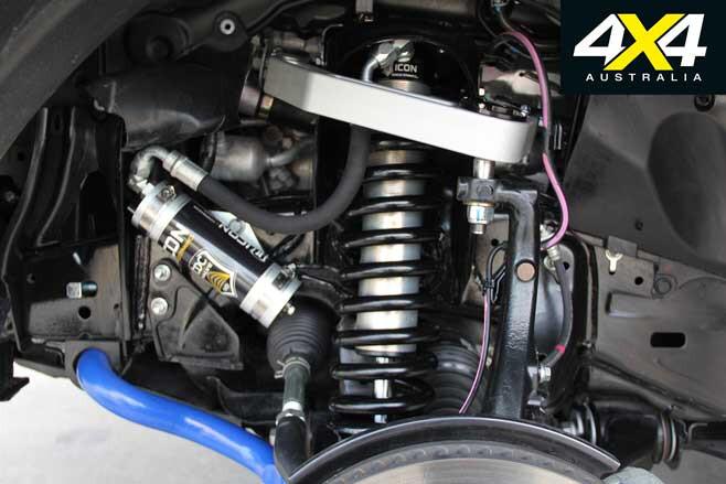 MSA 4 X 4 Custom Toyota LC 200 6 X 6 Project Super Crusier Suspension Jpg