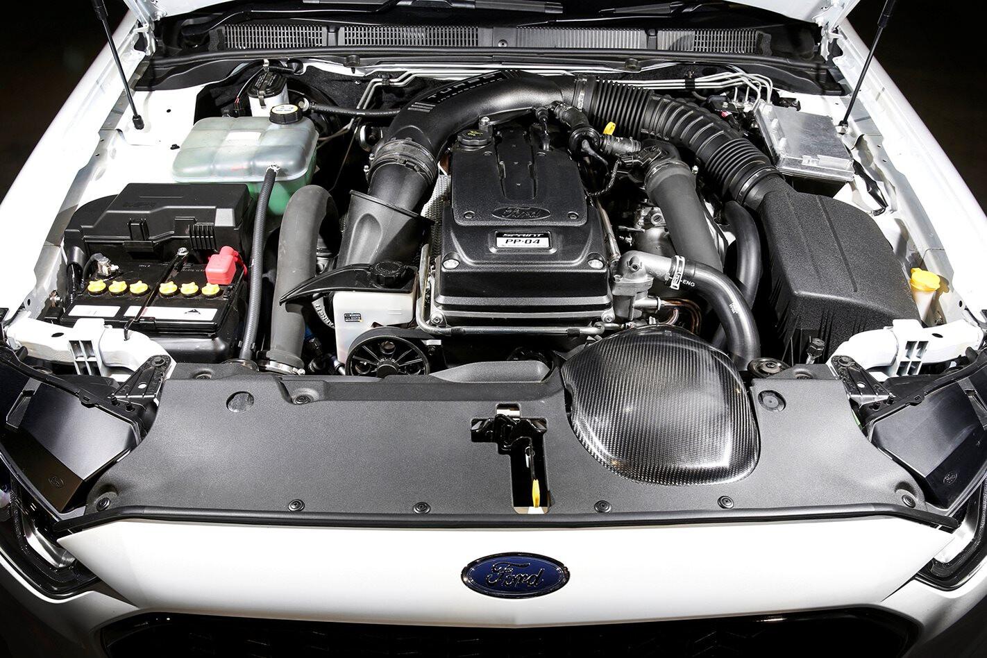 Ford Falcon Sprint 4 litre turbo engine