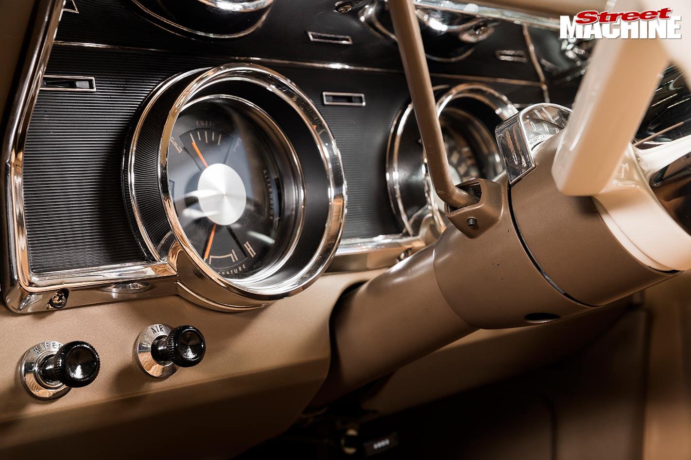 Ford Falcon XR ute dash