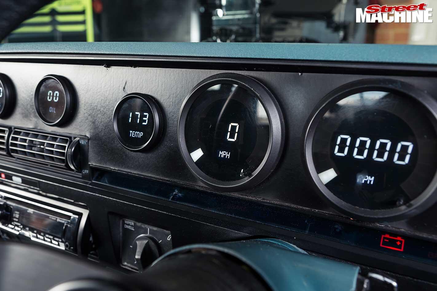 Holden VK dash