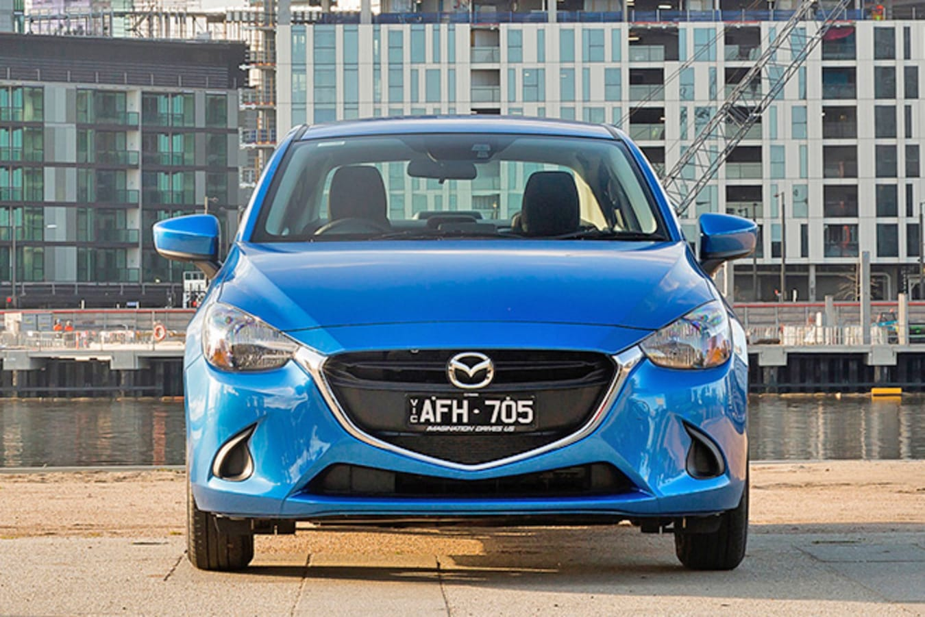 Mazda 2 Front On