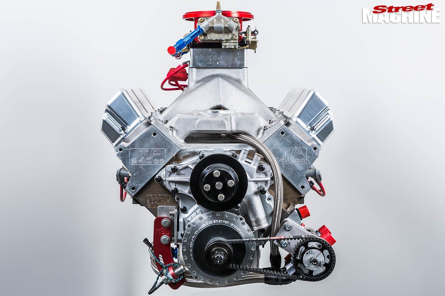 holden engine front