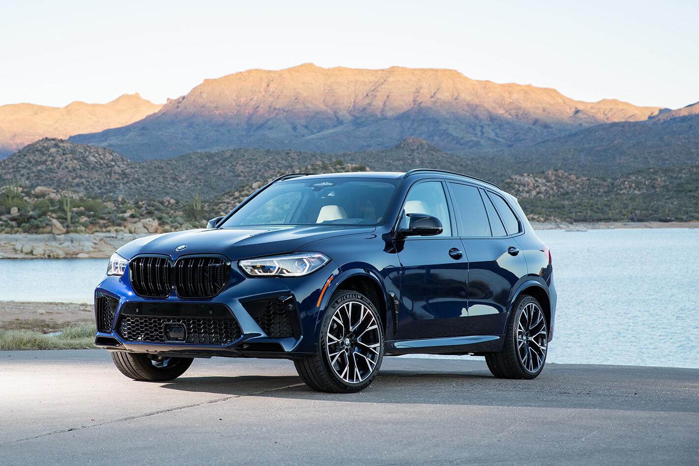 2020 BMW X5M Exterior