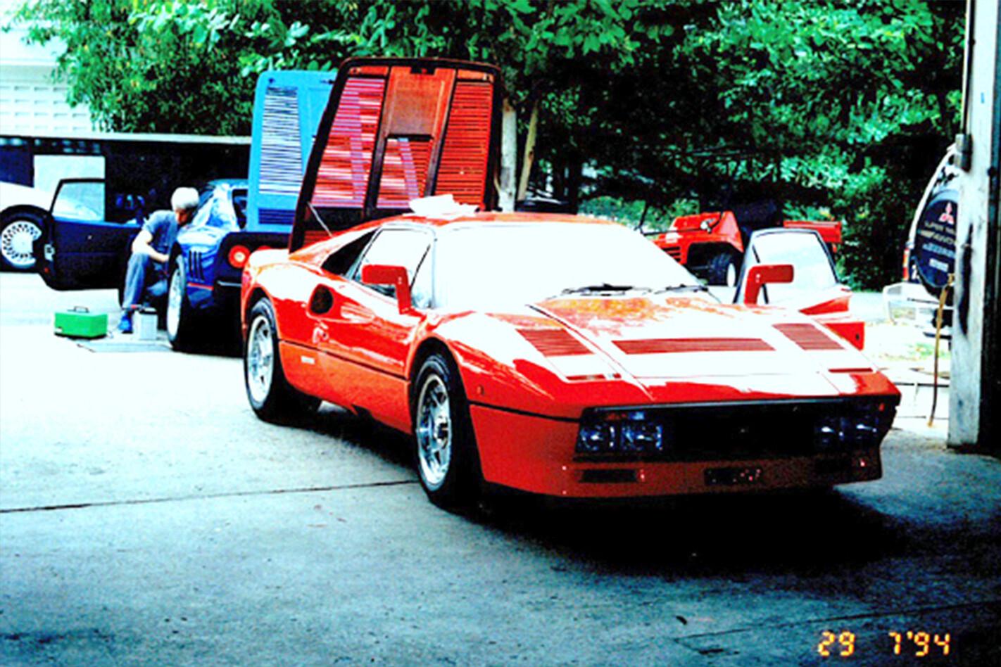 Paolo Garella Sultan Brunei 288 GTO Jpg