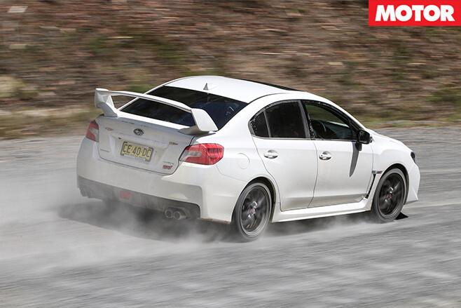Subaru wrx sti rear
