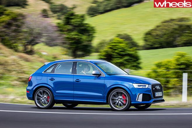 Audi -RS-Q3-quattro -driving -side