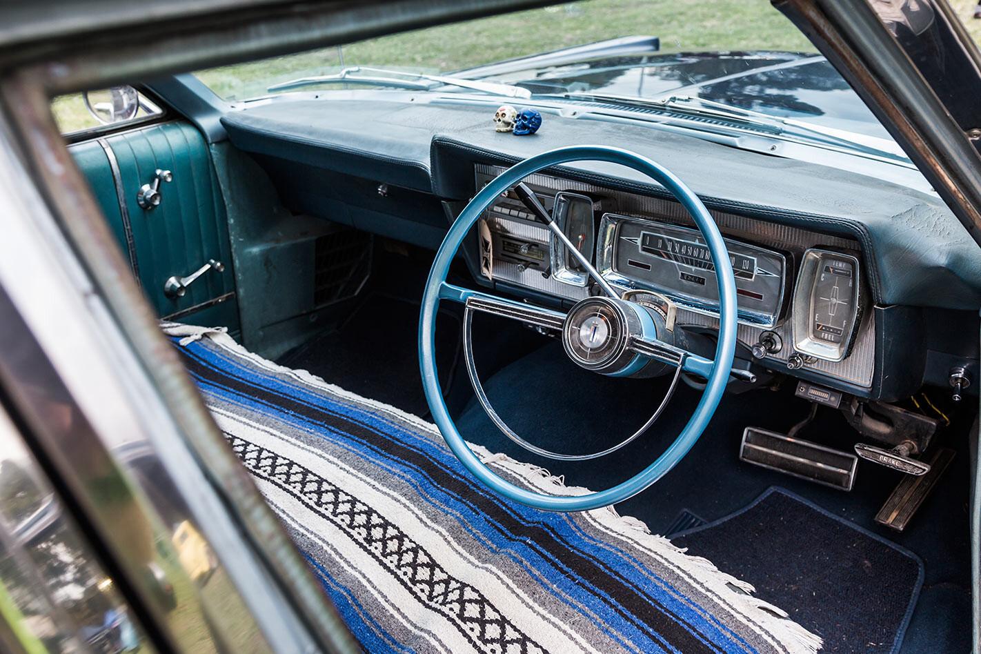 Ford Galaxie wagon interior