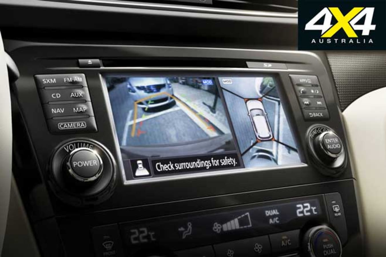 Dual Cab Ute Safety Features Explained Reversing Camera Jpg