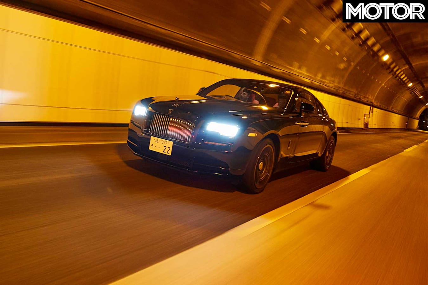 2019 Rolls Royce Wraith Black Badge Front Dynamic Jpg