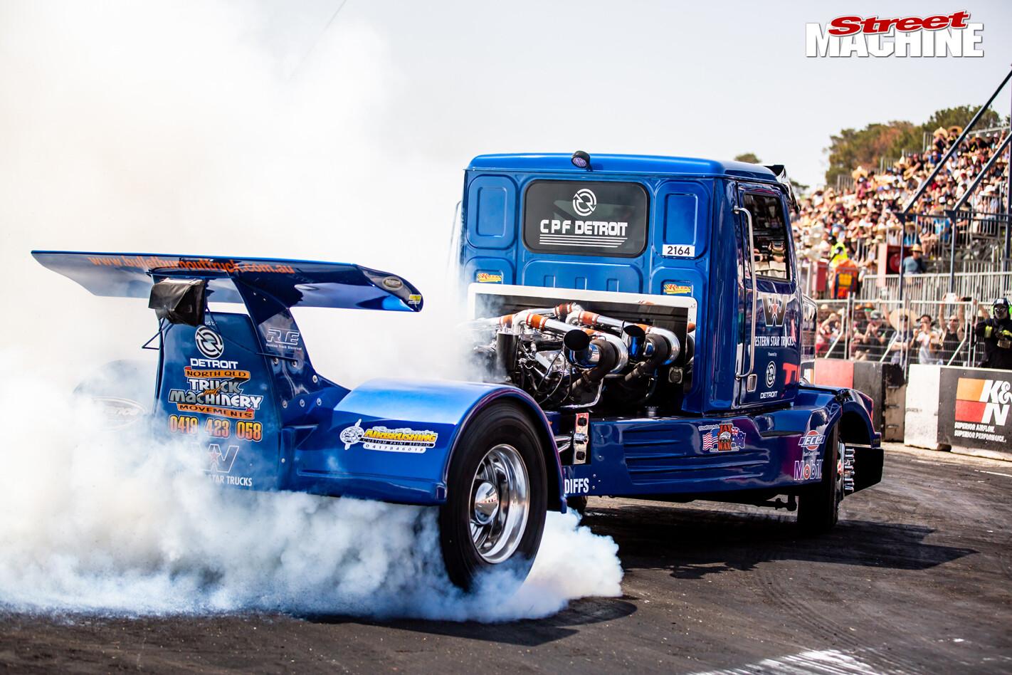 Burnout Bullet Truck