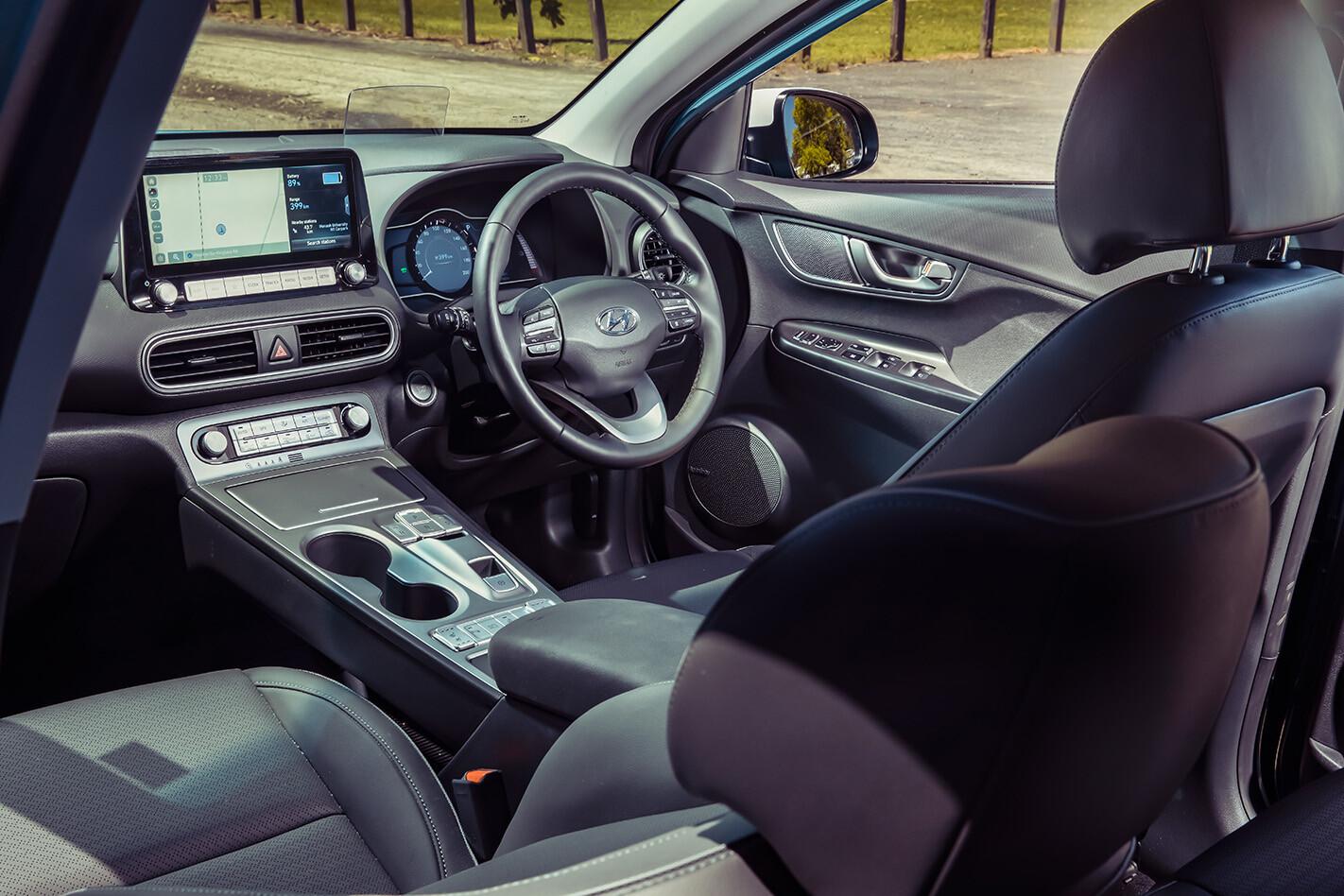 Hyundai Kona EV interior