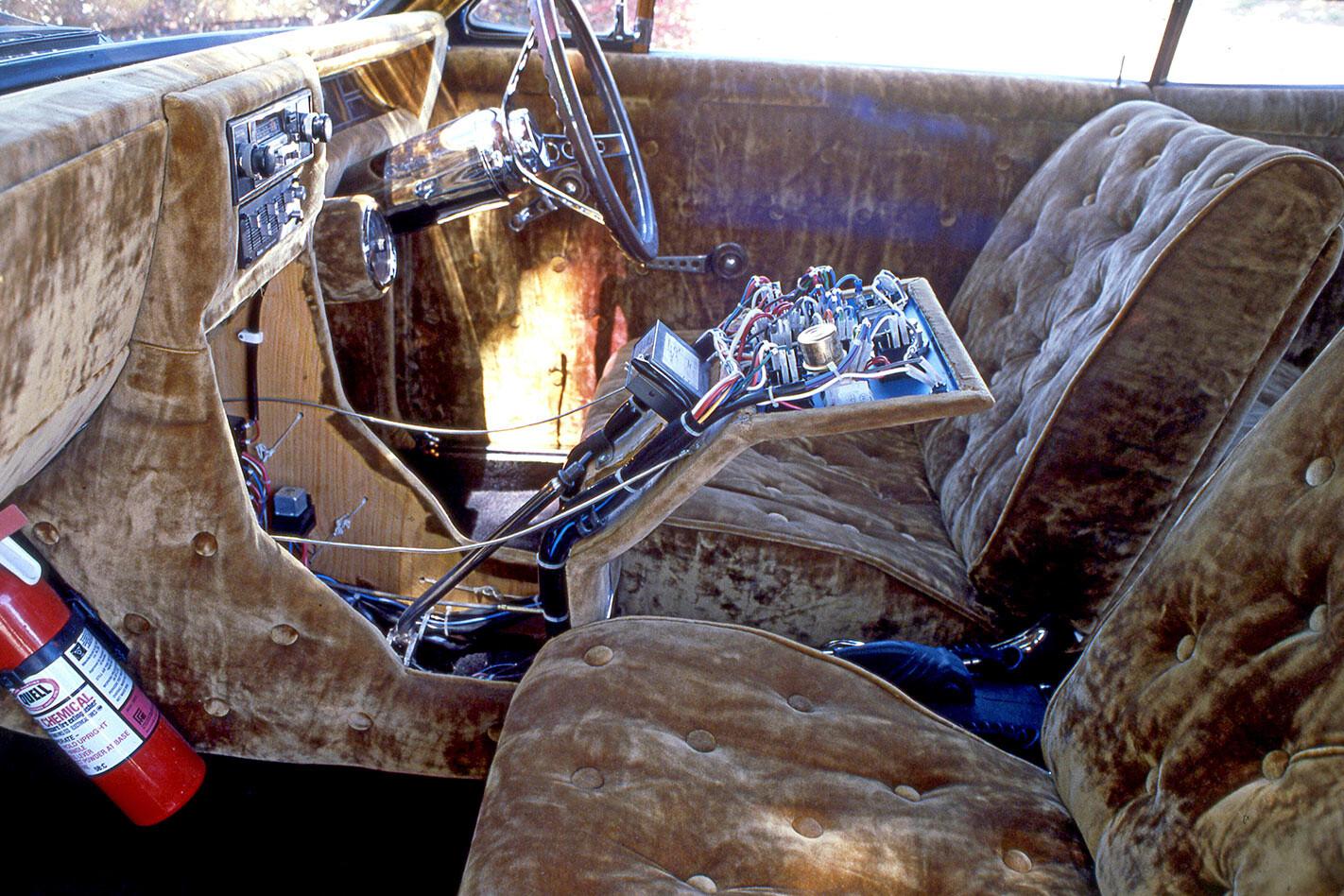 crushed velour interior