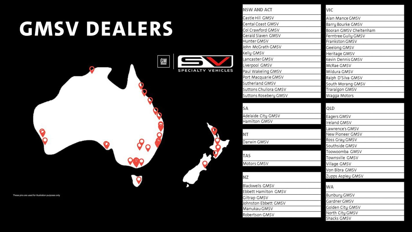 GMSV dealers launch in Australia New Zealand