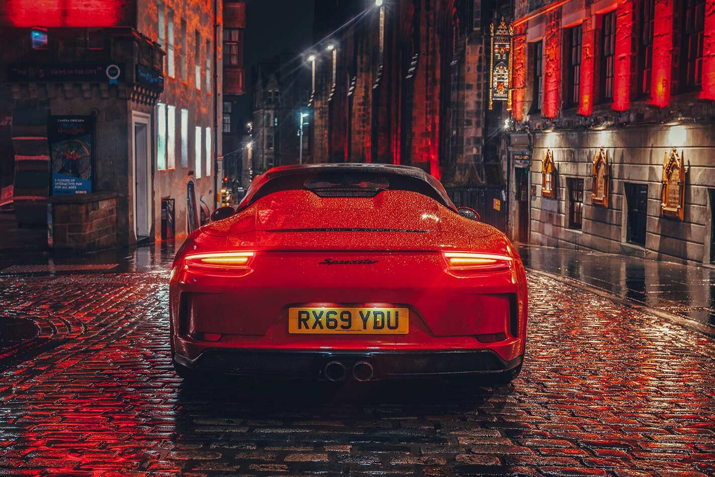2020 Porsche 911 Speedster rear