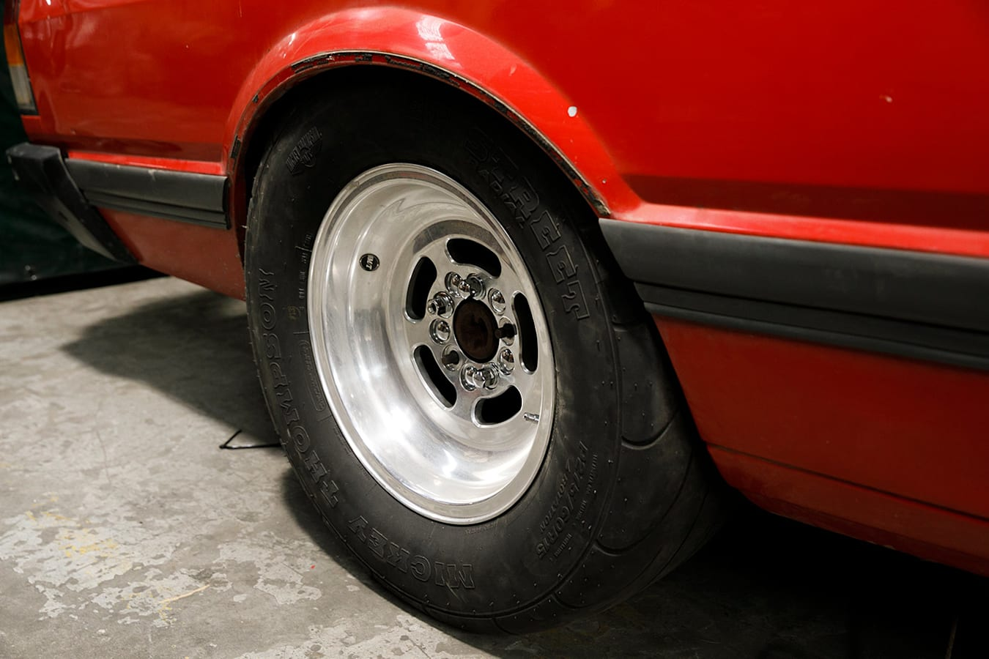 Ford Falcon XF ute wheel