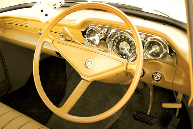 Holden FB coupe dash