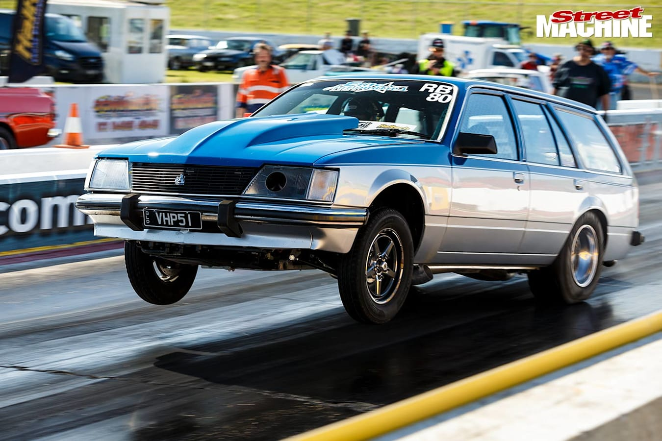 Holden VH Commodore at Drag Challenge