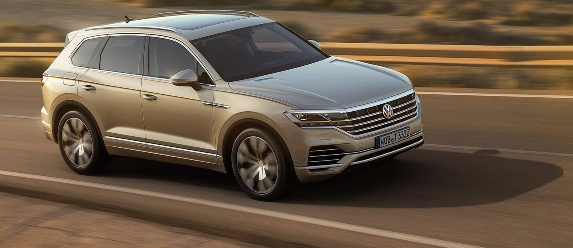 2018 Volkswagen Touareg will be the most advanced VW yet