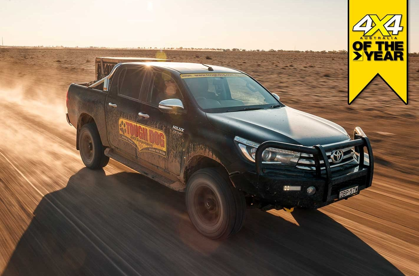 Tough Dog Toyota Hilux review 4x4 of the Year 2019