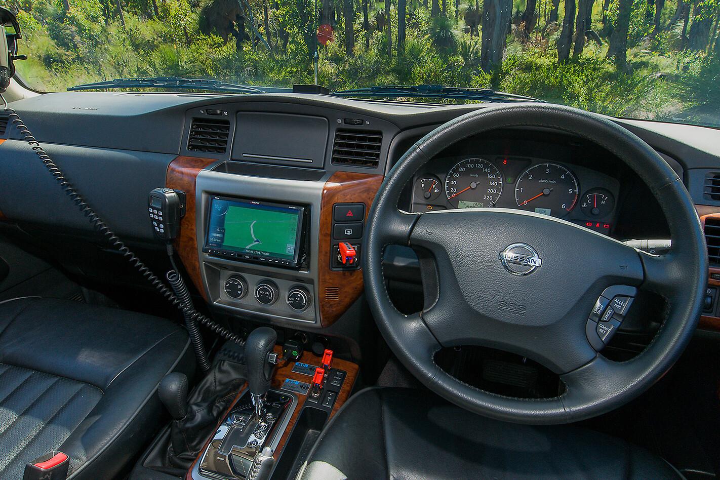 2010 Nissan Patrol GU7 Ti interior