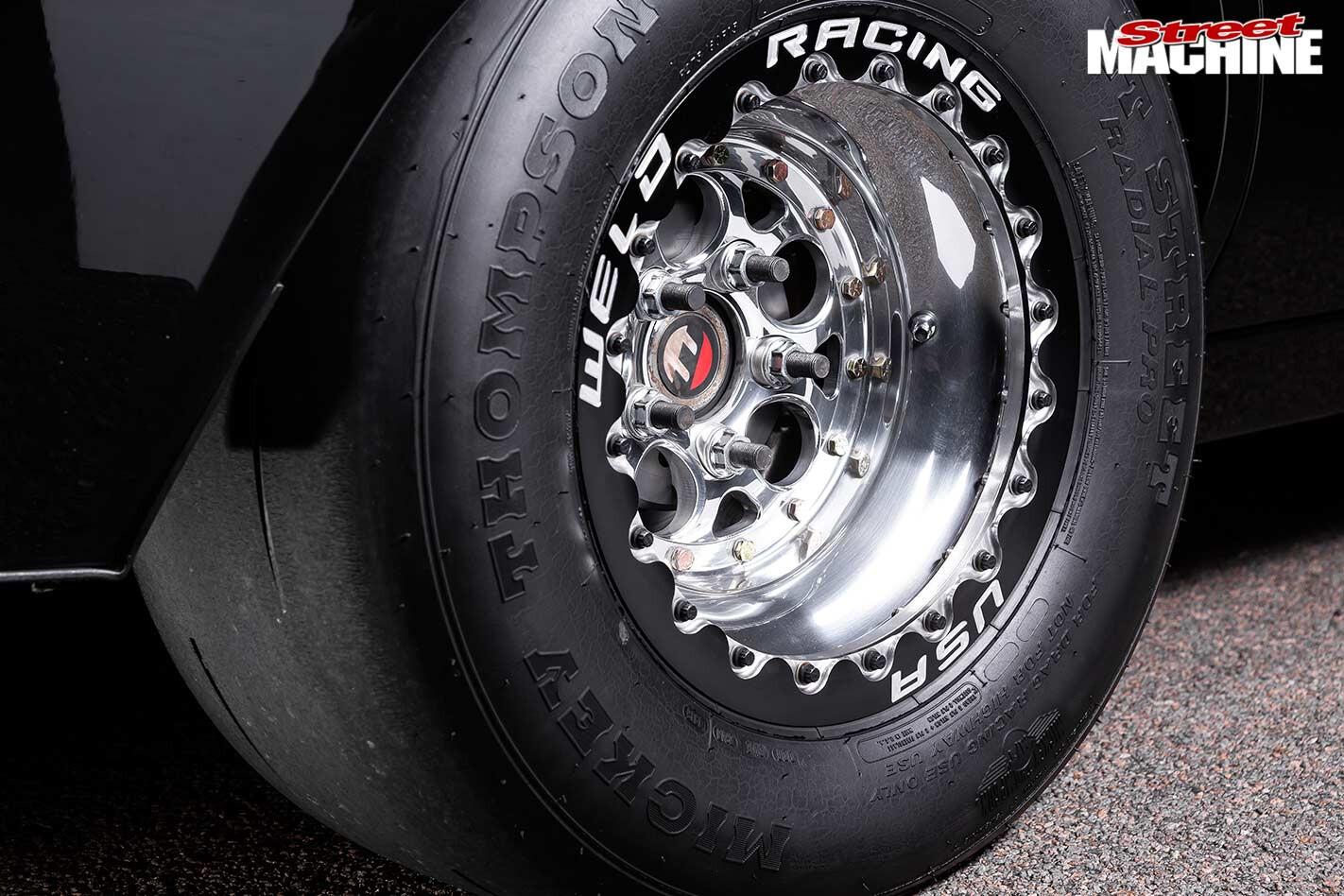 Holden HJ KIngswood wheel