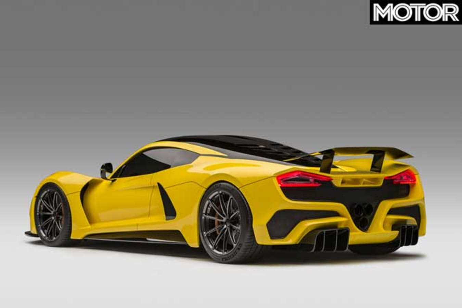 Hennessey Venom F 5 Rear Jpg