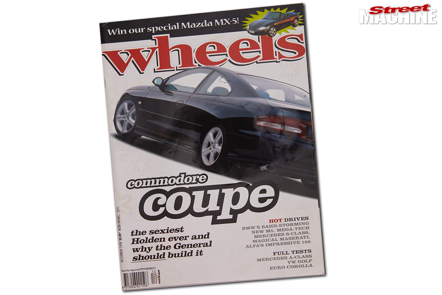 Holden VT Commodore coupe