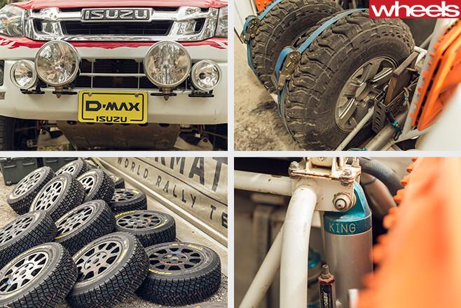 Isuzu -D-Max -Dakar -ute -car -mechanics -tyres -suspension