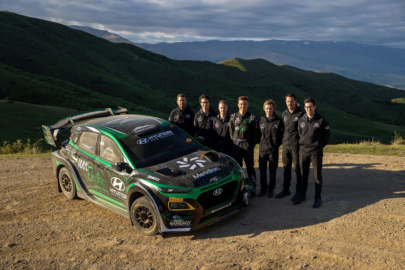 Padden Rallysport team
