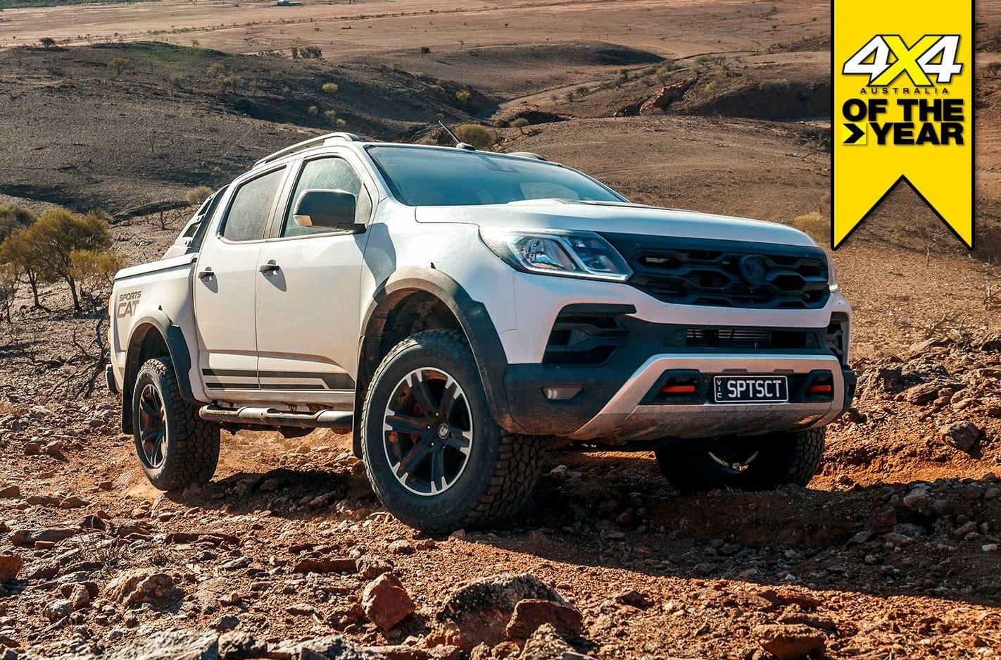 HSV Colorado Sportscat+ review 4x4 of the Year 2019