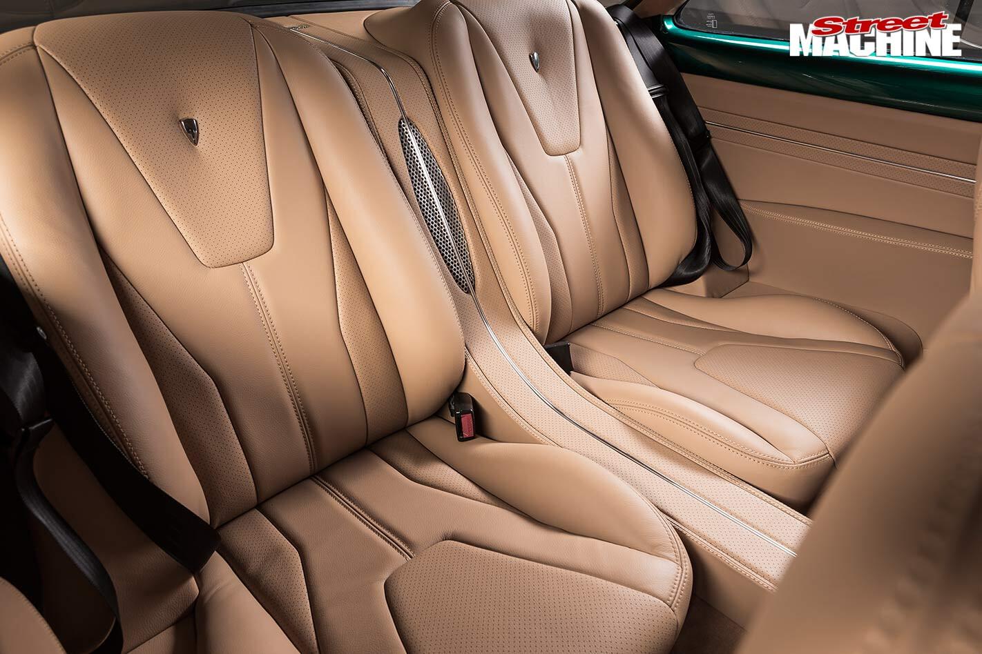Holden FB rear seats