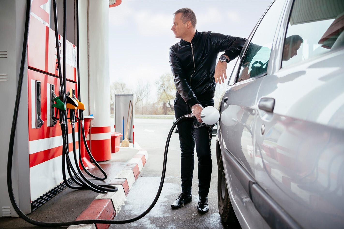 high-octane fuel refill
