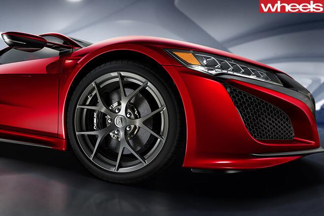 Honda -NSX-front -side