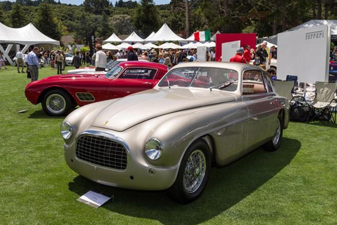 1950 Ferrari 195 Inter Touring Coupe