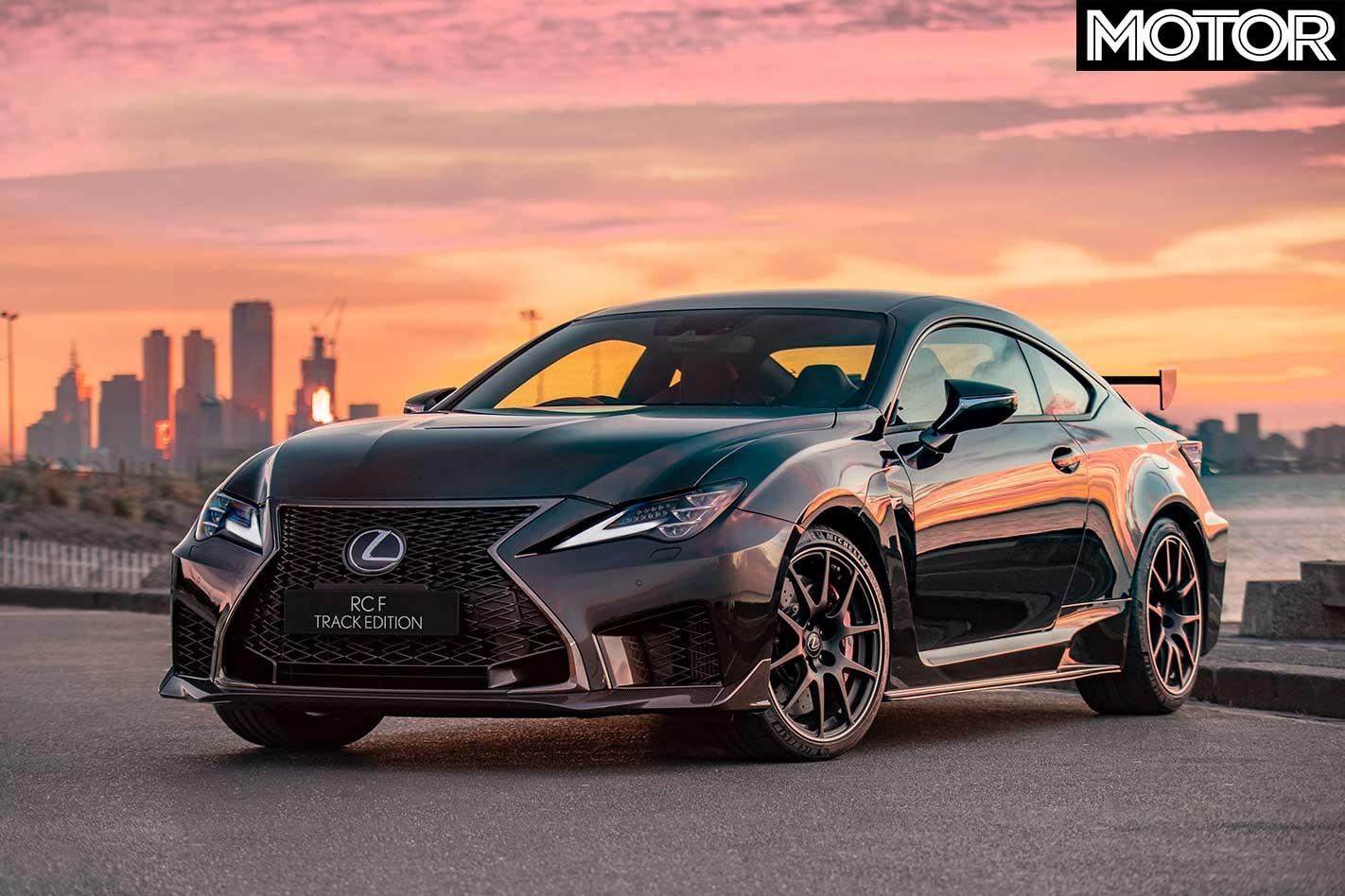 2019 Lexus RC F Track Edition Front Jpg