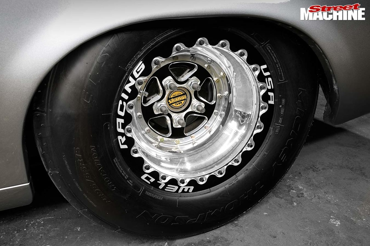 Ford Falcon XY ute wheel
