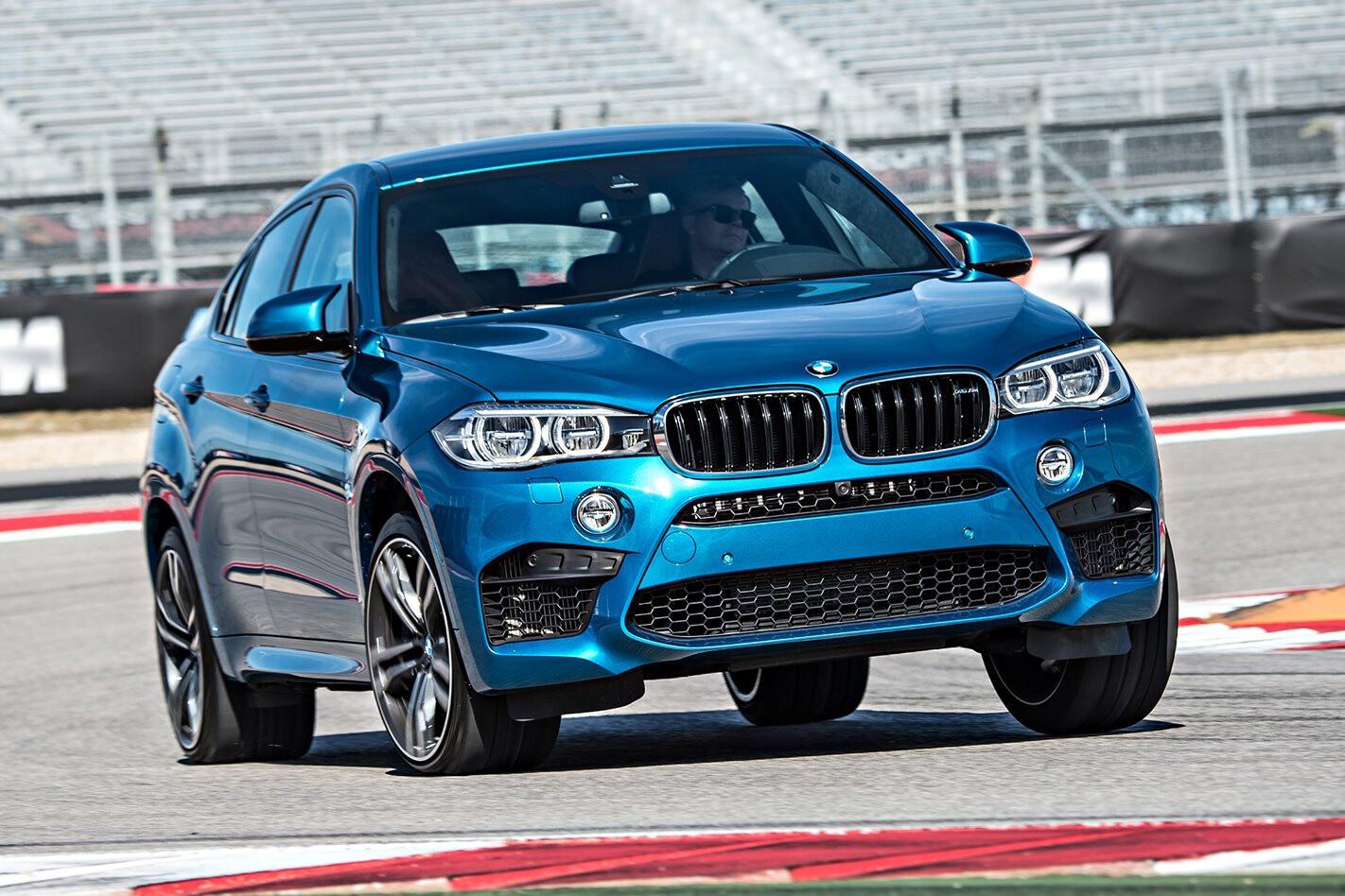 BMW X 6 M Front Jpg