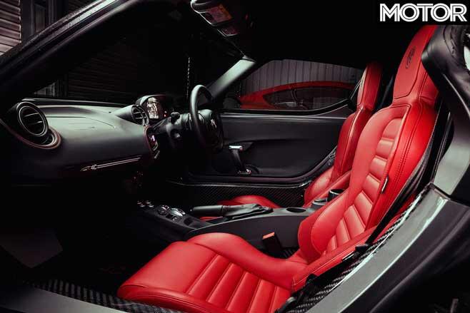 Alfa Romeo 4 C Spider Interior Jpg