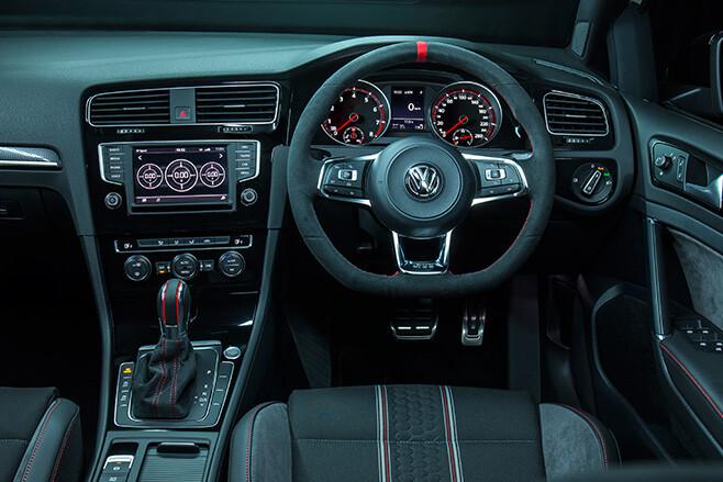 Volkswagen-Golf Mk7 GT1 40 years interior